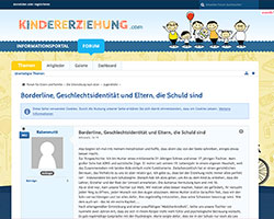 Screenshot Kindererziehung.com